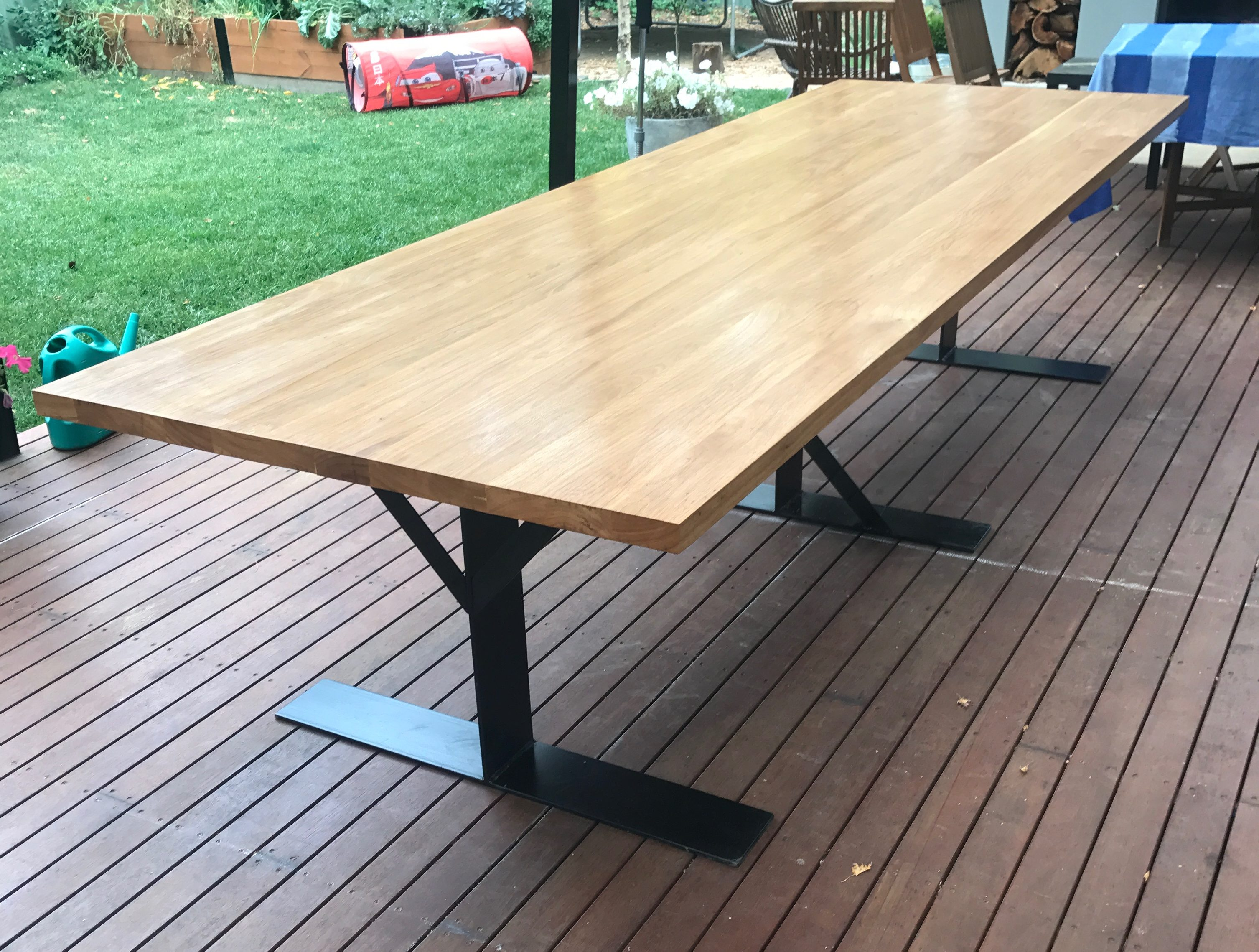 Tallowood Table Top. Made Using Festool Dominos And Titebond Glue. Sanded  Down To 400 Grit Then Applying A Few Coats Of Feast Watson Hardened Tung Oil . Part 39
