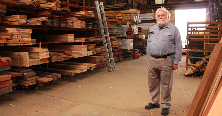 Rodney at Anagote Timbers